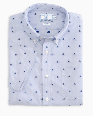 Southern Tide Sink or Swim Short Sleeve Button Down Shirt