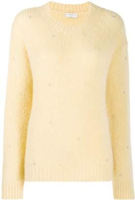 Sandro Paris embellished knit jumper