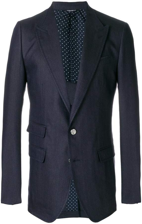 Dolce & Gabbana multi-pocket tailored jacket