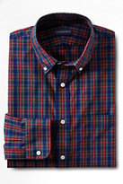 Classic Men's No Iron Traditional Fit Poplin Dress Shirt-Modern Gillies Tartan