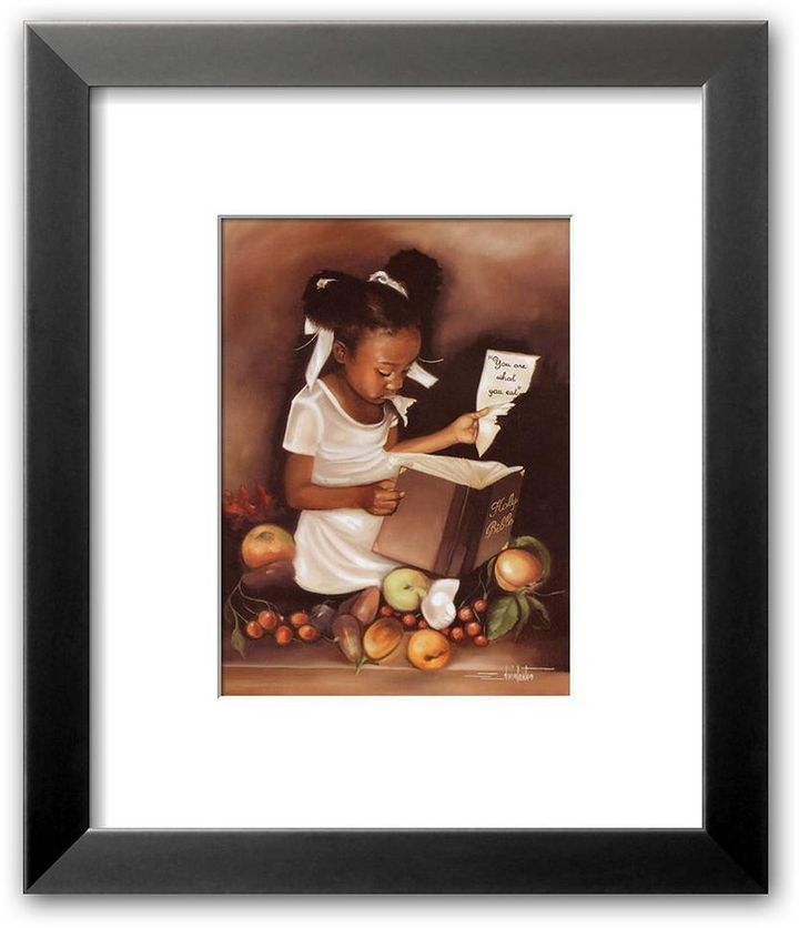 """Edwin Art.com """"you are what you eat"""" framed art print by lester"""