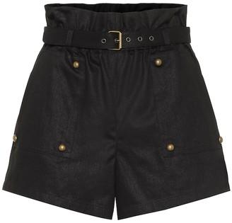 Saint Laurent Cotton-blend shorts