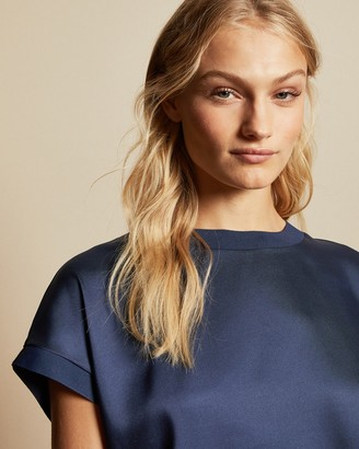 Ted Baker Sculpted Hem Relaxed Fit T-shirt
