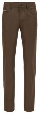 HUGO BOSS Slim-fit jeans in lightweight super-stretch denim