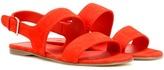 Loro Piana Loa suede sandals