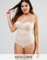 Asos SHAPEWEAR New Improved Fit Wear Your Own Bra Lace Bodysuit