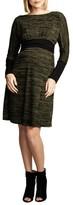Maternal America Women's Empire Waist Nursing Dress
