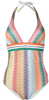 Missoni zig-zag pattern one-piece - women - Nylon/Spandex/Elastane/Rayon - 42