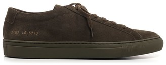 Common Projects Achilles Low Top Suede Sneakers
