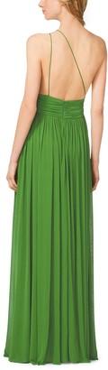 Michael Kors Collection Matte-Jersey Asymmetrical Gown