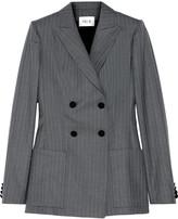 Pallas Junon pinstriped double-breasted wool blazer