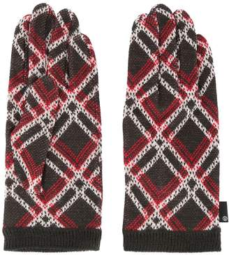 Undercover knitted gloves