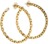 Tory Burch Chain Hoop Earrings