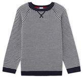 Petit Bateau Boys wool and cotton pullover