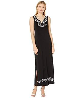 Karen Kane Women's Embroidered Maxi Dress