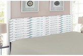 Retro Arrow Pattern Upholstered Panel Headboard East Urban Home Size: Twin