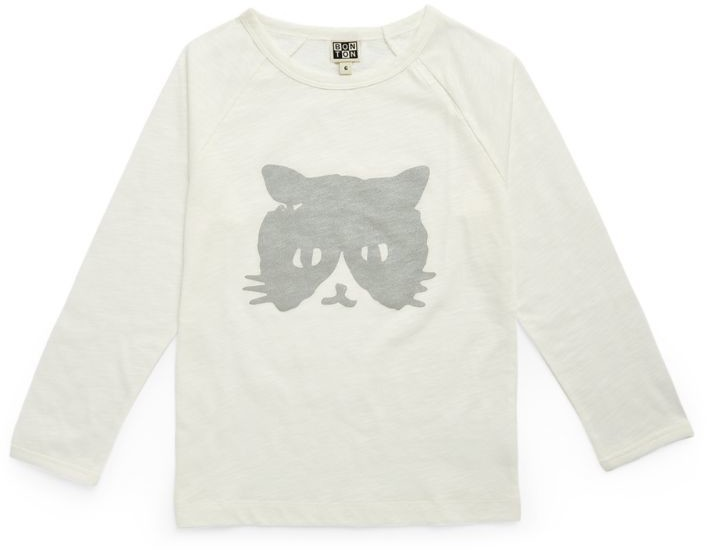 Bonton Cotton Cat T-Shirt (4-12 Years)