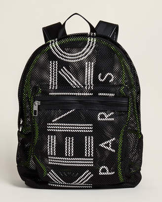 Kenzo Mesh Logo Backpack
