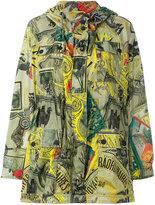 Etro patterned zipped coat - women - Polyamide/Polyester - 44