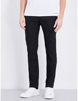 Ralph Lauren Purple Label Tapered Cotton-blend Trousers