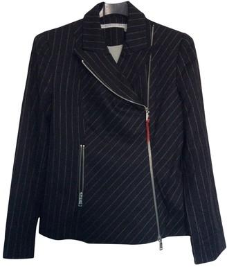 JC de CASTELBAJAC Black Wool Jacket for Women