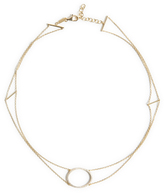 As 29 AS29 Double Diamond Circle Choker