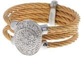 Alor 18K Gold & Stainless Steel Diamond Ring - 0.14 ctw