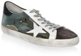 Golden Goose Low-Top Leather Sneakers