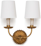 REGINA ANDREW Clove Sconce Double (Antique Gold Leaf)