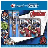 Oral-B and Crest Kid's HoliDay Pack Toothpaste, (Pack of 6)