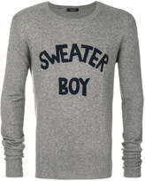 Unconditional Sweater Boy jumper
