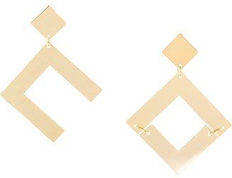 Cult Gaia oversized earrings