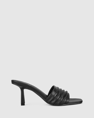 St Sana - Women's Black Mules - Emberly Mules - Size One Size, 40 at The Iconic