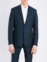 Sandro Slim-fit wool and mohair-blend jacket