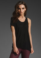 Tissue Jersey One Sleeve T