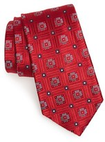 Nordstrom Men's Floral Medallion Silk Tie