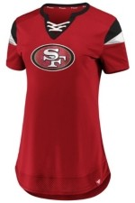 Majestic San Francisco 49ers Women's Draft Me Shirt
