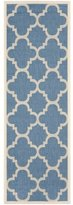 Andover Mills Welby Lattice Blue Rug Rug