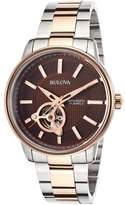 Bulova Men's Automatic Two-Tone Stainless Steel Bracelet Watch 45mm 98A140