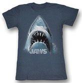 Jaws - Shark Face Womens T-Shirt In