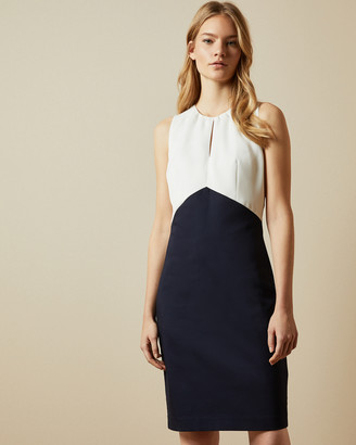 Ted Baker TURGA Fitted mockable dress