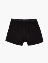Comme Des Garcons Shirt Cdg Shirt X Sunspel Black Cotton Boxer Shorts