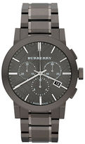 Burberry Mens The City Stainless Steel Chronograph Watch