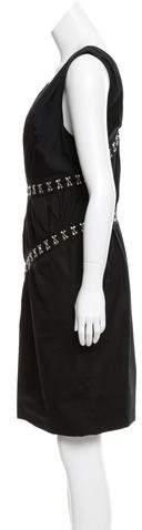 Thakoon Contrast Shift Dress
