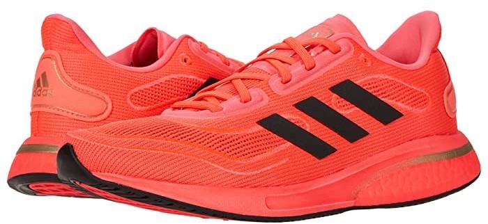 adidas Supernova (Signal Pink/Core Black/Copper Metallic) Women's Running Shoes