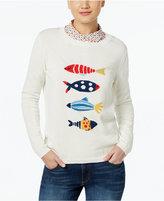 Max Mara Fish-Motif Sweater