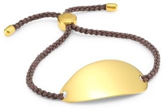 Monica Vinader Nura 18K Yellow Goldplated Friendship Bracelet