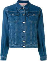 MAISON KITSUNÉ denim jacket - women - Cotton/Polyester - M