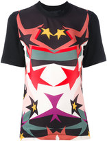 Elie Saab star print T-shirt - women - Polyester/Spandex/Elastane/Rayon - 36