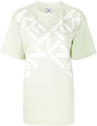 Kenzo double logo-print T-shirt
